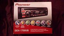 PIONEER DEH-1700UB - CD RDS RECEIVER- CAR PLAYER