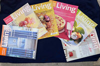 Lot (6) Jan Feb Apr May June Dec 2004 MARTHA STEWART LIVING Magazine like new