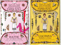 The Enchanted Dolls' House Paper Dolls Lucinda Hattie Victorian Wedding Costumes