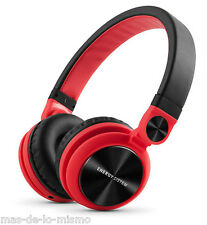 Auriculares Energy Sistem HeadPhones DJ2 Red Plegables Giro Cable Desmontable