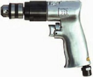"Ingersoll Rand 7802RA Air Drill 3//8/"" Chuck Reversible 2000 RPM"