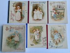 Bo Peep Library Collection of 5 Children's Books, 1905, NMint w/Original Box