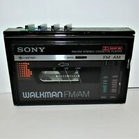 Vintage Sony Walkman WM-F10II FM/AM Radio Cassette Player For Parts or Repair