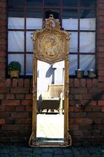 EN PROMOTION: miroir doré à la feuille d'or style baroque 176X58cm d'un château