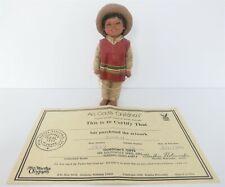 "All God'S Children 6"" Juan International Collection Figurine W/ Coa"