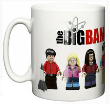 """Big Bang Theory"" Té Café Taza Taza TV Show Lego Divertido Regalo"