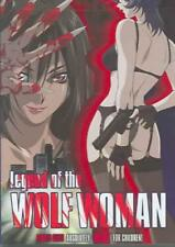 LEGEND OF THE WOLF WOMAN NEW DVD