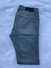 Original Zaraman Slim Fit Tapered Leg Grey Stretch Denim Jeans W34 L32 ES 6960
