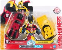 Hasbro Transformers RID Crash Combiner Force Bumblebee and Sideswipe