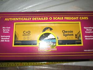 MTH 20-97422 Chessie Centerflow Hopper car in box.