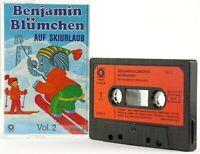 Benjamin Blümchen auf Skiurlaub Vol. 2 Sonocord Teldec Hörspiel MC Kassette