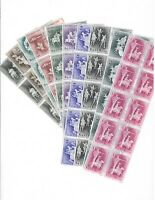 DEALER STOCK SAN MARINO MNH 1963 Medieval tournaments 10v 10 SETS s32708