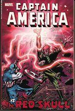 CAPTAIN AMERICA VS THE RED SKULL MARVEL SC GN TPB SILVER BRONZE AGE+ BATTLES NEW