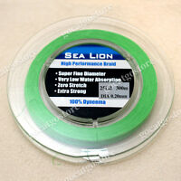 NEW Sea Lion 100% Dyneema  Spectra Braid Fishing Line 300 25lb Green