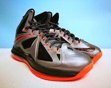 Nike Lebron X (10) + + lava + + sz 9 US 42.5 EU 541100 002 Jordan Kobe Kd Adidas