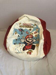 Very Rare Vintage 1989 Nintendo Super Mario Bros Bean Bag Chair Awesome!