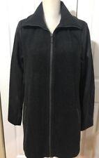 NWT MICHAEL KORS MK Woman's Wool Blend Contrast Sleeve Peacoat Jacket Gray sz M