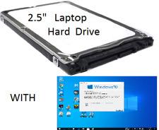 "320GB 2.5"" Laptop Hard Drive Sata With WIN 10 Pro 64 Office_2016 P-Shop CS5  A3"