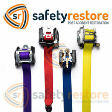 Seat Belt Webbing Replacement - Seatbelt Harness Strap - Any Color!