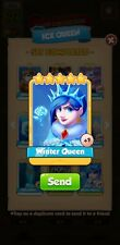 Winter Queen Gold Card Coin Master *Fast Delivery*