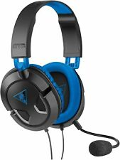 Turtle Beach Ear Force Recon 60P Amplified Gaming Headset PS4 Black NEW WIRED