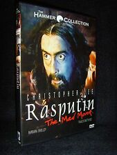 Rasputin: The Mad Monk - The Hammer Collection (DVD, 1999) Mint•No Scratches•USA