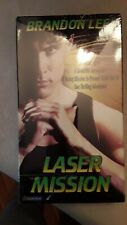 Laser Mission Brandon Lee VHS Tape