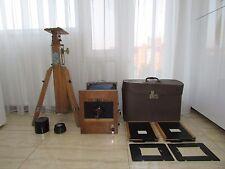 Soviet Vintage FKD 18x24 wooden large format camera w/ I-37 4.5/300mm lens #2