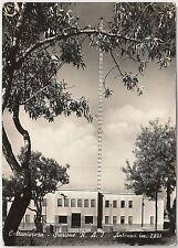 CARTOLINA d'Epoca - CALTANISETTA Citta' : Stazione RAI  1954