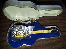 Super Bowl Xxxvii Guitar Pin With Case