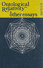 Ontological Relativity and Other Essays (John Dewey Essays in Philosophy), Very