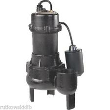 Wayne 120V 1/2-HP Cast-Iron With Tether Switch Sewage Pump