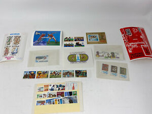 Collection Of 1980 Olympics Stamps Mixed Countries Unused Ungraded
