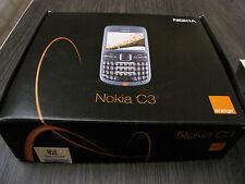 Móvil Smartphone Gsm Nokia C3-00 Gold Dorado (+Caja) Raro  / Rare