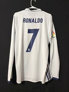 Real Madrid Ronaldo Jersey Player Issue Adizero Match Prepared FootballJersey