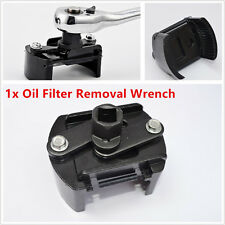 "Car SUV  60-80mm Oil Filter Wrench Cup 1/2"" Housing Tool Remover Kit Universal"