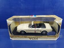 1964 1/2 Ford Mustang convt 40th Anniversary diecast 1:18 scale Motor Max 1/3064