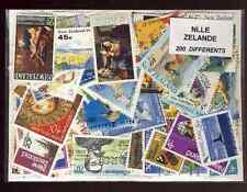 New Zealand - New Zeland 200 stamps different