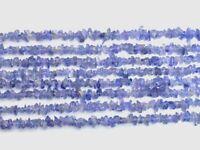 "1-6 Strand Pretty Natural Tanzanite Uncut Nugget Chips Gemstone Beads 34""3x3mm"