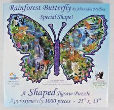 "SunsOut Shaped ""Rainforest Butterfly"" Alixandra 1000 Piece Puzzle 25"" x 35"""