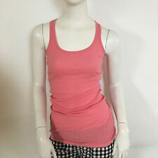 Miss Selfridge Ladies Light Salmon Pink Racer Back Vest Top UK Size 4