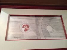 Disney's Little Mermaid Ariel cell & Production Layout drawing
