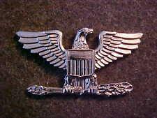 VIETNAM ERA USMC OFFICER COLONEL SHOULDER INSIGNIA MARKED T.N.G.I.