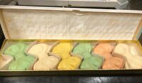 Vintage Avon Set of 6 Floral Soap Bows AWESOME!