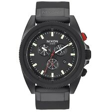 Nixon A290760 Rover Chrono All Black Mens Analog Watch