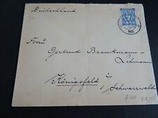 Nederland 223 enkelfrankering op brief van Zeist naar Kömigsfeld 1931