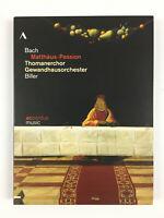 Passion Selon Saint Matthieu 2 DVD Stefan Kahle, Bach Matthaus Passion Biller