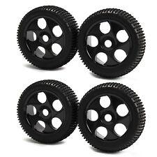 4x 17mm Hub Plastic 5 Holes Wheel Rims & Tires for RC1:8 Off-Road RC Car Buggy
