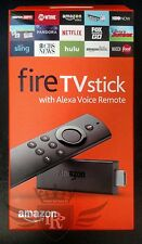 Brand New Amazon Fire TV Stick With Alexa Voice Remote Factory Sealed - LY73PR