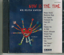 CD - NOW IS THE TIME - WIR HELFEN KINDERN  # MINT / NEU IN OVP  #H41#